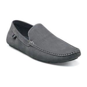 Stacy Adam's Vigo Gray Suede Men's Loafer  9.5